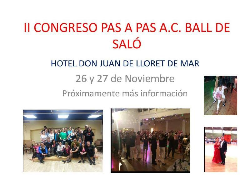 II CONGRES DE BALL